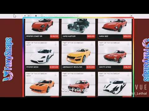 Unreleased Vehicles prices/Precios de futuro Autos