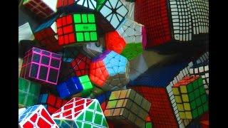 Toute ma collection de Rubik's cube ! 188 CUBES !