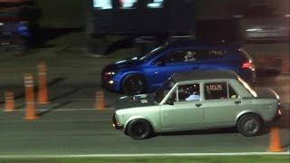 Volkswagen Scirocco 2.0T vs Fiat 128 enfierrado