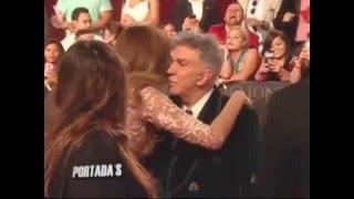Miss Colombia Ariadna Gutierrez Y Osmel Sousa en Premios Lo Nuestro 2016