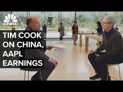 Apple CEO Tim Cook On China Wall Street And Innovation