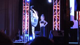 Freestyle Dance off with Taylor Hatala at VIP Dance Events