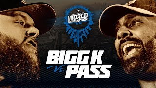 KOTD - Bigg K vs Pass | #WD7