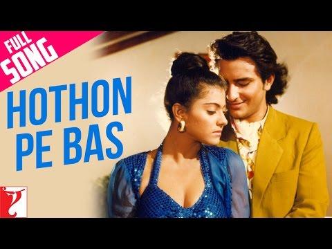 Xxx Mp4 Hothon Pe Bas Full Song Yeh Dillagi Saif Ali Khan Kajol Lata Mangeshkar Kumar Sanu 3gp Sex