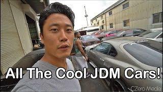 Japan Vlog #2 -  Driving Evo 7 And JZX90 Drive - Hanging Out At STF Tuning - Vlog 65