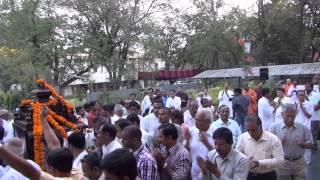 Temple Pradakshina during Bhagavan Sri RamaKrishna  Jayanti on Mar 13,2013