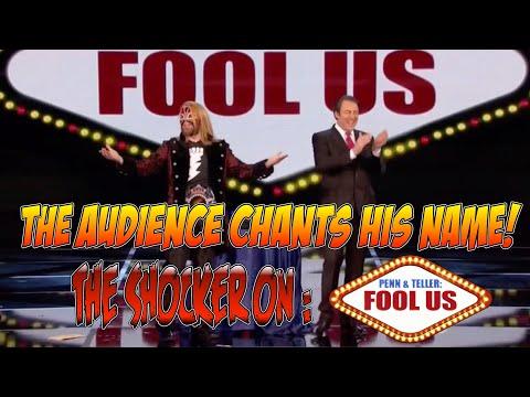 Magician Shocks Penn & Teller Fool Us