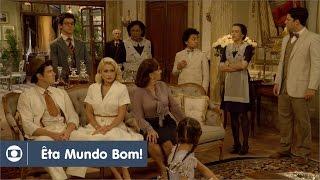 Êta Mundo Bom!: capítulo 91 da novela, segunda, 2 de maio, na Globo
