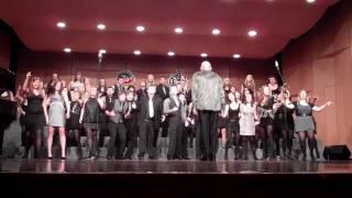 Wales choir performs Bohemian Rhapsody