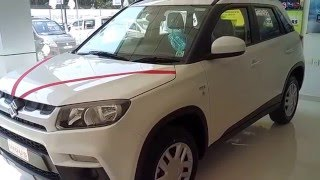 Maruti Suzuki Vitara Brezza VDi Interior and Exterior Full View