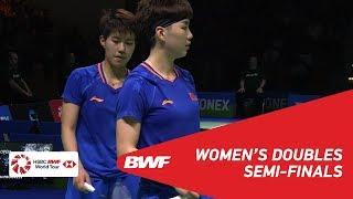 SF | WD | FUKUSHIMA/HIROTA (JPN) [1] vs DU/LI (CHN) [8] | BWF 2019