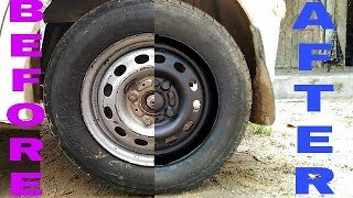 How to paint your car wheel rims | Spray paint