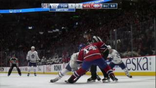 Gotta See It: Things get ugly as Canadiens & Maple Leafs trade brutal hits