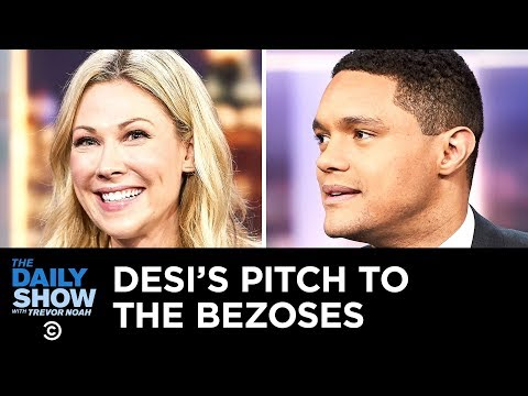 Jeff Bezos's Mind Blowing Divorce Settlement The Daily Show
