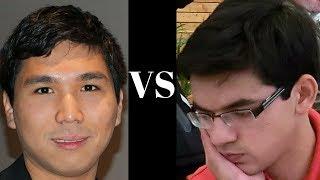 Amazing Chess Game: Wesley So vs Anish Giri : Your Next Move (Rapid) (2018):   English Opening