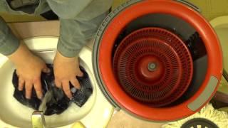 Redneck way to wash compression stockings