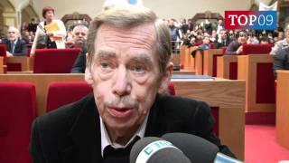 Asi to dopadne špatně, říká Václav Havel