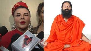 Rakhi Sawant makes fun of Baba Ramdev   VIDEO