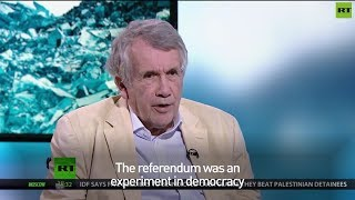 "Martin Bell: ""Brexit referendum was an experiment in democracy"""