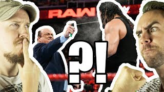 Have WWE BOTCHED Brock Lesnar Vs Roman Reigns?! WWE Raw, Aug. 13, 2018 Review | WrestleRamble