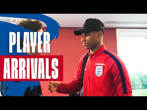 Xxx Mp4 Rashford Hart The England Squad Arrive In Preparation For Slovenia Match Inside Access 3gp Sex