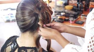 High Glamour Ramp Look | Best Fashion Show Ramp Hairstyle