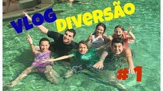 Vlog 1 - Rio Quente Resort com os Youtubers e Cartoon Network