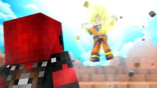 Minecraft: SUPER HEROES PVP #16 - GOKU VS DEADPOOL ‹ Ine ›