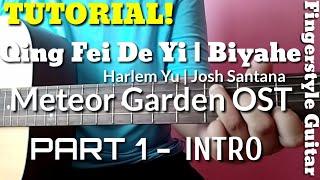 Qing Fei De Yi Biyahe Fingerstyle Guitar Tutorial Part 1| Meteor Garden OST | Abz Collado