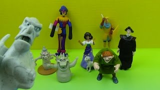 1996 BURGER KING'S HUNCHBACK OF NOTRE DAME FESTIVAL OF FUN KIDS' MEAL SET OF 8 TOYS VIDEO REVIEW