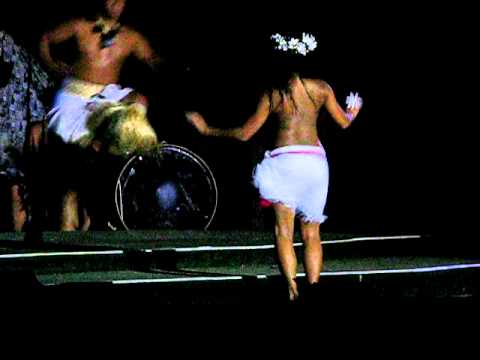 Topless Hula Dancer Germaine s Luau August 2010