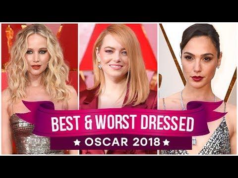 Jennifer Lawrence, Emma Stone, Meryl Streep : Best and Worst Dressed - Oscars 2018   Pinkvilla