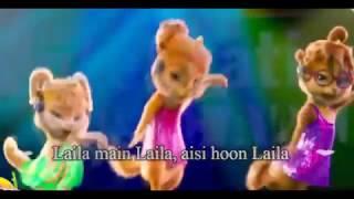 Laila Main Laila Video dance Chipmunks with Lyrics   Raees   Shah Rukh Khan & Sunny Leone