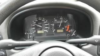 VW POLO Classic 1.9 SDI 64hp 1st gear pull
