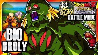 Dragon Ball Z: Extreme Butoden 3DS English: Battle Mode - Team Bio-Broly Gameplay (Movie #11)
