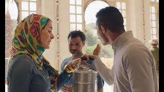 """نسر الصعيد - كوميديا محمد رمضان وعائشة بن أحمد  """" يا مخ الجاموسة متجوز بقرة """"  😂😂"""