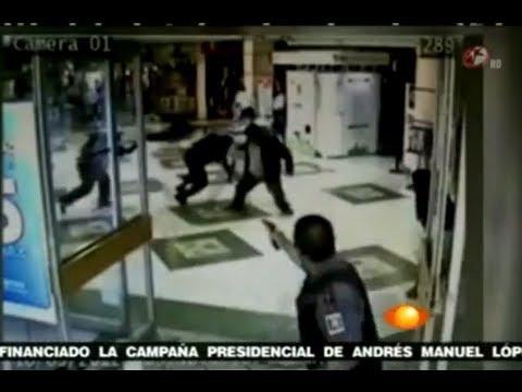 Video ☠ asesinato de delincuentes y custodio Asalto Camioneta de valores