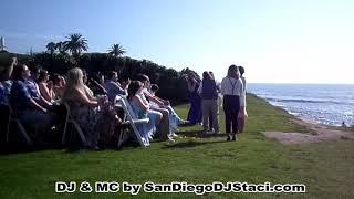 Cuvier Club/La Jolla Wedding Bowl Wedding - 7.18.17