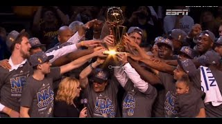 Golden State Warriors Champions ● Full Trophy Celebration ● Players Reactions | HD