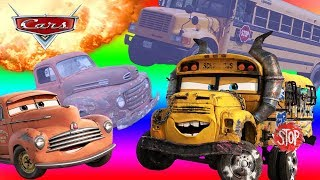 10 CARS 3 Characters In Real Life in 60 seconds 2017