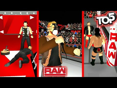 Top 5 Raw Moments:December 3 2018-Wr3d 2k20