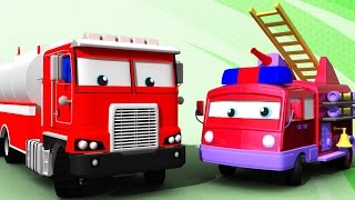 Water Tender and Fire Truck | Formation & Uses | 3D Learning Video For Kids