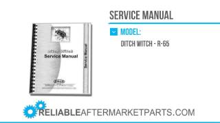 2879 New Ditch Witch R 65 Engine Service Manual