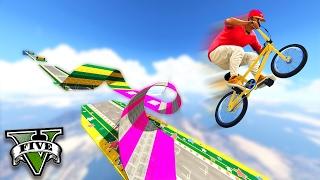 GTA V Online: LOOPINGS IRADOS de BMX nas NUVENS!!