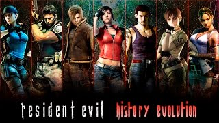 Resident Evil - Evolution | All Games (1996-2017) Biohazard HD 1080p