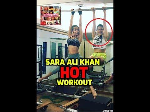 Sara Ali Khan HOT Workout with Malaika Arora Khan