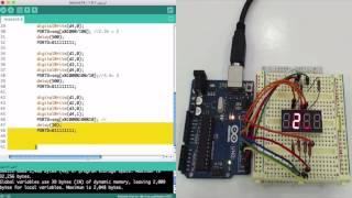 الدرس السادس عشر تشغيل الشاشة السباعية بطريقة ج3 multiplex