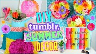DIY Summer Room Decor Ideas! | Make Your Room Cute for Summer!! ☼ | Jessica Reid