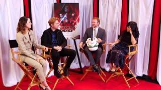 Star Wars: The Last Jedi Q&A FULL Cast Facebook Live  (12/1/17)