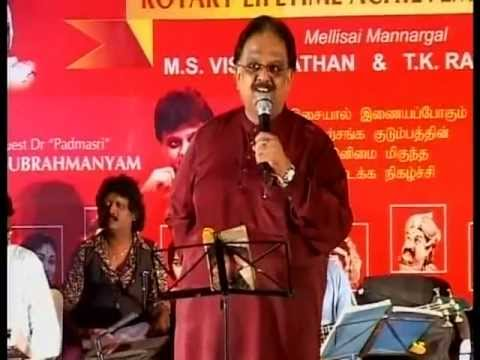 Xxx Mp4 SPB Sings Vaan Nila Song In A Rotary Fellowship Music Program 3gp Sex